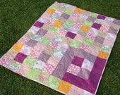 Boxed Charms Quilt - Amy Butler Baby/Toddler Quilt