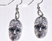 Harry Potter Death Eater Mask Earrings