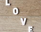 Love (wood floor) - 5 x 5 - Fine Art Photography