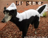 Lil' Stinker Skunk Dog Costume for Halloween custom made
