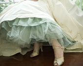 Full Length Hand-dyed Bridal Slip - IN YOUR CHOICE OF COLOR