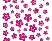 Cherry Blossoms, set of 50, vinyl decals