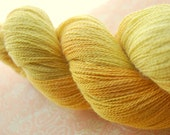 Yellow Mellow Luxury Baby Alpaca / Silk Hand Painted Lace Yarn