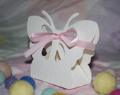 Butterfly favor box for wedding or party (Set of 10)
