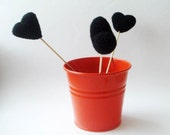 black hearts (set of 3)