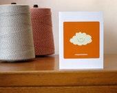 Congratulations Cloud note card
