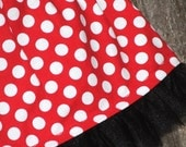 TuTu Tulle Skirt 12-24m Minnie's Dot