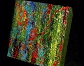 Wishteria Acrylic Abstract Highly Textured Original Painting