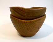 Vintage Thai Wood Bowl Set // Treasury Pick