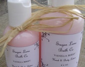 2 oz Vanilla Berry Hand and Body Lotion - Paraben Free