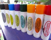Love Those Lips- 3 Pack-  Organic Herbal Lip Balm