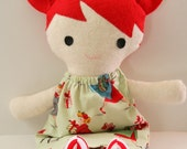 Candy Cane Christmas Doll