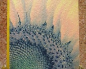 Set of 8 Blank Sunflower Notecards