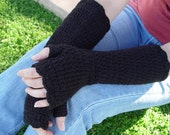 PDF Crochet Pattern - Girly Gauntlets plus Short and Sweet Mitts - Two patterns in one