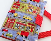 Crayon Artist Case traveling art organizer for kids Town Square- IN STOCK