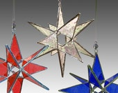 3 Miniature Moravian Stars, your colors, one LOW price