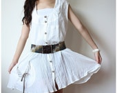 Sweet Blouse in comfy white cotton