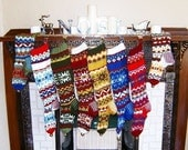 Personalized Nordic Stocking Set of 4