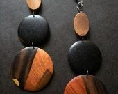 Chocolate Caramel Earrings