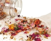 Flower Power - Feminine Healing Bath -- Organic - Vegan - Natural - Fabulous -- Bathe in Flowers