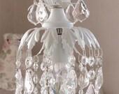 Sparkly princess pendant chandelier