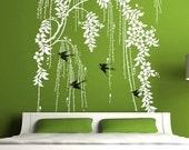 Vinyl  Wall Art Home Decor---WEEPING WILLOW ---Decals Stickers Murals