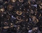 100 sequins METALLIC...............GOLDEN AND BLACK