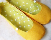 PDF Sewing Pattern - Vintage Flair Flats women's size 5 to 11