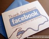 Facebook Reminder-Single Birthday Card