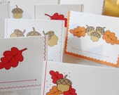 Acorns - Printable Place Cards Packet