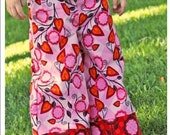 Noodles and Milk Sewing Pattern-Tutorial PDF DIY -Kinley Lounge Pants- Sizes 6mo to 5t