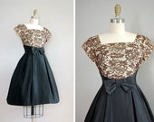 vintage 1950s YOUNG ROMANTIC party dress