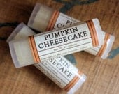 Pumpkin Cheesecake Oval Lip Balm - One Tube