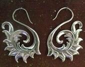 Phoenix Earrings - SILVER