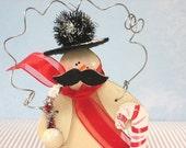 Gentle Snowman