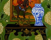 Chinoiserie Style Reproduction  by Catherine Nolin