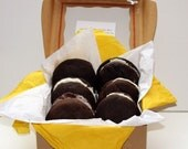 """Vegan Assorted Chocolate Love """"Voopee"""" Whoopie Pie Box Perfect Gift and a Sale"""