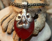 Ruby Healing Stone Necklace