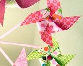 Pinwheel Mobile Josie Chandelier