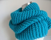 The Teal Blue Super Cowl