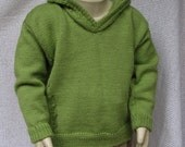 18-24 M (2T) Toddler  Boy's/Girl's Wool Pullover - Machine Washable