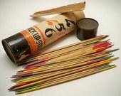 Vintage Wooden 456 Pick Up Sticks Toy