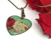 Dove of Love Vintage Necklace