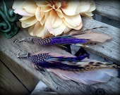 Fabulous Fun Feather Earrings: