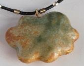 Green Cloud -  pendant