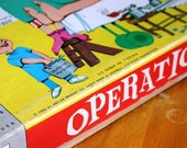 Vintage 1965 Operation game by Milton Bradley