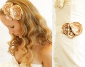 Buy 1 Get 1 SALE- English Garden sash or headband - a Versatile Piece