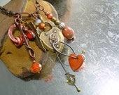 Heart Rubbish - Treasure Necklace