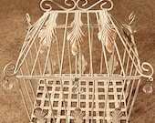 Antique Birdcage/Giftbox
