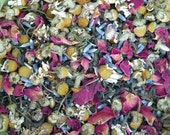 Faerie Tea . Organic All Natural Artisan Tea . For Faerie Garden Tea Parties and Working with Nature Spirits and Faeries from White Magick Alchemy